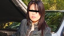 NANPA DE GET 車の故障で困っていた大人し系アジアン娘 SASHA