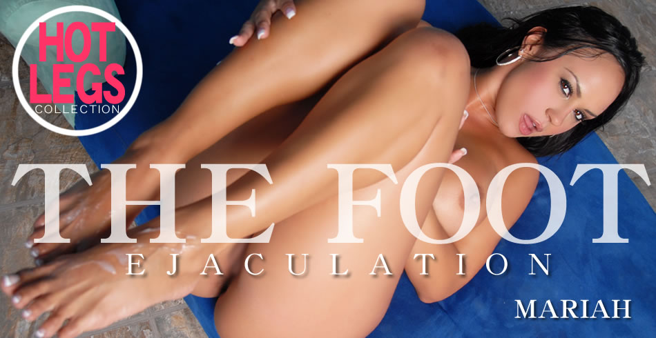THE FOOT Ejaculation HOT LEGS COLLECTION