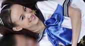 制服姿でマッサージしながら誘ってくる幼痴女 Amai Liu アマイ ルー 3