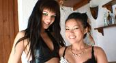 一本のチンポを貧る女達 3Pハメ撮り Blue & Ladi ラディー 2
